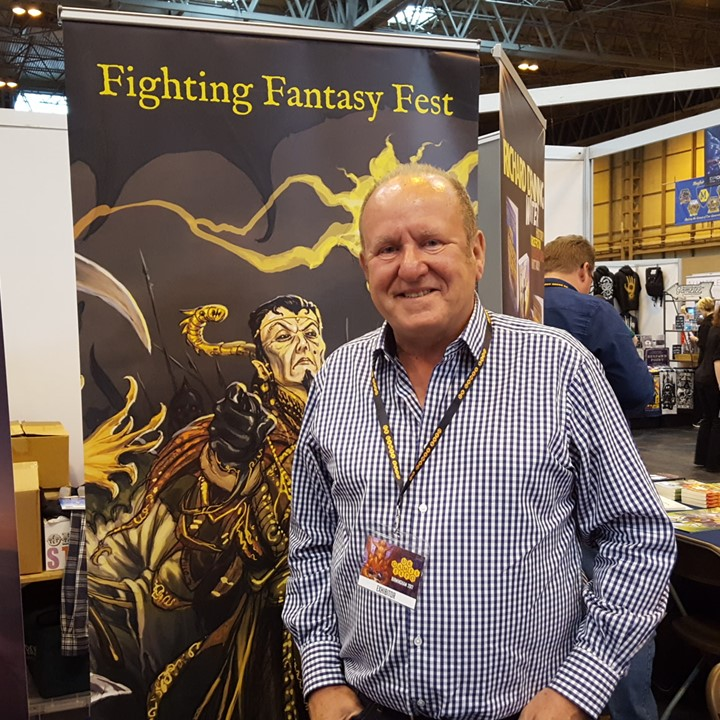 Ian Livingstone from UK Games Expo 2017